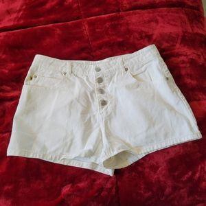 Blue Asphalt White Jeans Button Up Vintage Retro